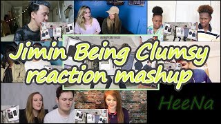[BTS] Jimin Being Clumsy|reaction Mashup