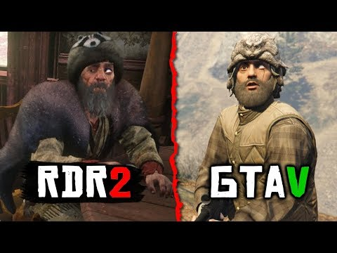 GTA Characters In Red Dead Redemption 2 (GTA Easter Eggs In RDR2)