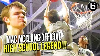 Mac McClung is Legend!! State Championship + ANOTHER Scoring Record?!?