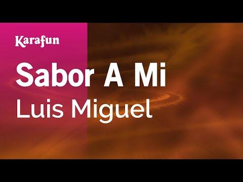 Sabor a mi Luis Miguel