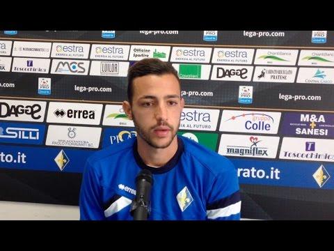 Preview video Riprendono gli allenamenti del Prato, parla il difensore Riccardo Martinelli
