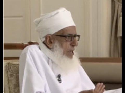 دعاء سماحة الشيخ أحمد الخليلي المفتي العام للسلطنة بنية رفع البلاء عن عمان والعالم أجمع