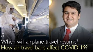 How Air Travel Bans Affect COVID-19? When Can We Fly Again? (5)