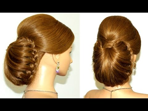 Www Hair Style Image Com Braided Updo Hairstyle For Long Hair