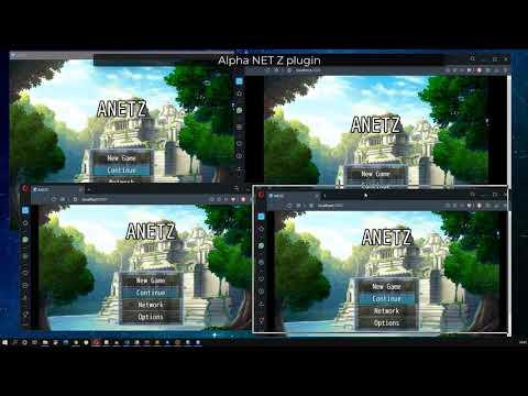 RPG Maker MZ multiplayer battle test