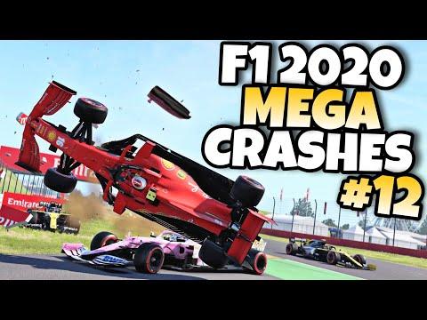 F1 2020 MEGA CRASHES #12