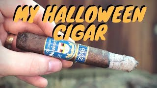 My Halloween Cigar With Home Roasted Coffee