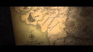 The Map of Middle Earth - The Hobbit and Lord of the Rings