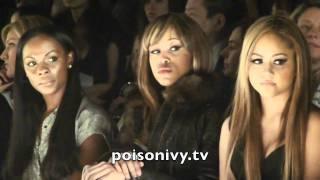 """Джессика Зор (Ванесса из """"Сплетницы""""), Rebecca Minkoff Runway Show 2/11/11"""