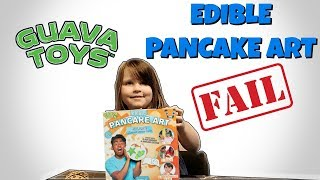 GUAVA TOYS EDIBLE PANCAKE ART REVIEW | GUAVA JUICE YOUTUBE