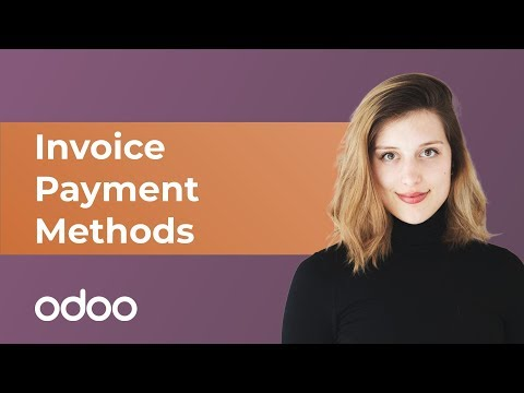 Invoice Payment Methods | odoo Invoicing