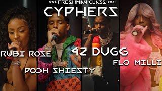 Pooh Shiesty, Flo Milli, 42 Dugg and Rubi Rose's 2021 XXL Freshman Cypher