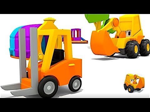 Carros para niños - Carretilla elevadora - La Excavadora Max