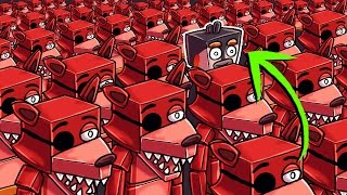 Minecraft | Who Is the REAL Foxy - Morph Hide and Seek! (Five Nights at Freddy