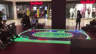 Interactive LED Floor | LuminVision
