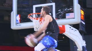Download Youtube: CRAZY Dunks At Halftime Of Celebrity Game Ft. Jordan Kilganon And Crew!