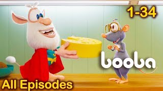 Booba funny cartoons - All Episodes Compilation 34 for kids 2018 KEDOO ToonsTV