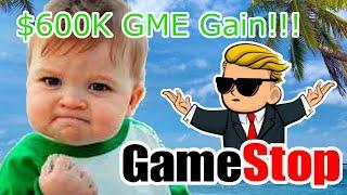 EPIC $600K Gamestop YOLO!