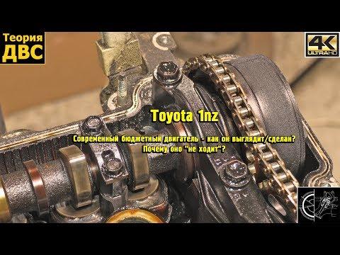 Фото к видео: Toyota 1nz - Современный бюджетный двигатель - как он выглядит/сделан? Почему оно не ходит?
