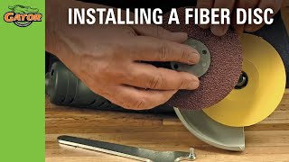 How To Install A Fiber Disc