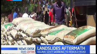 Oguna calls for rehabilitation of major highways in West Pokot after deadly landslides