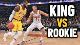 NBA LIVE 19 THE ONE | LEBRONS LAKERS VS YOUNG STRAP WING DEFENDER Ep 8