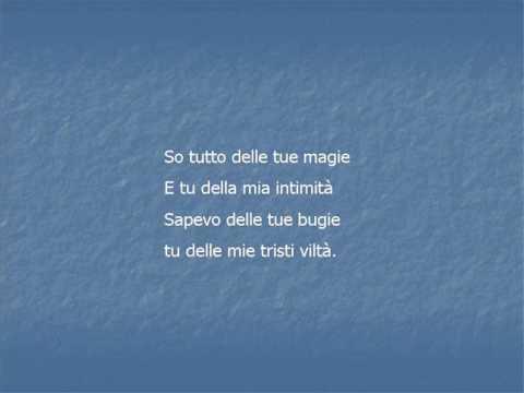 La canzone dei vecchi amanti - Franco Battiato