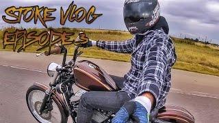 Motovlog: Stoke Vlog ep.3 - Custom Harley Sportster