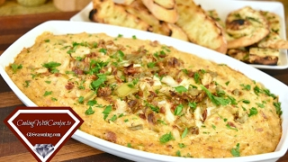 Warm Crab Artichoke and Bacon Dip Recipe  Cheesecake Factory For What?  Super Bowl Party Recipe