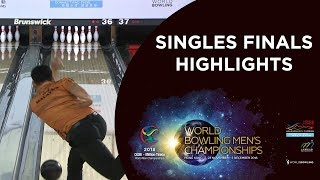 Highlights of Singles Finals Night - World Bowling Men