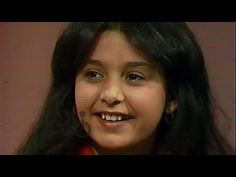 في مرحلة الطفولة... أول لقاء تليفزيوني لصابرين