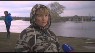 В Вагайском районе наблюдается самый масштабный за всю историю паводок