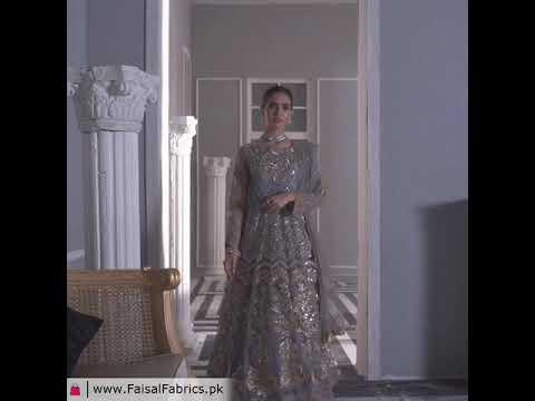Akbar Aslam Libas e Khas Wedding Collection 3pc Suit AAWC-1340 WISTERIA