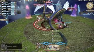 FFXIV Stormblood - Omega Deltascape V1 Savage O1S Clear Monk PoV