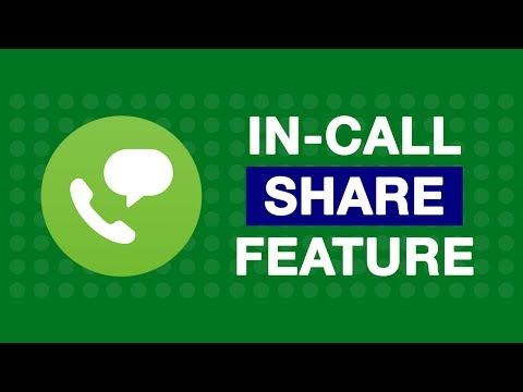 What is In-Call share feature of Jio4GVoice App?