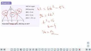 Eğitim Vadisi AYT Geometri 6.Föy Trigonometri Konu Anlatım Videoları