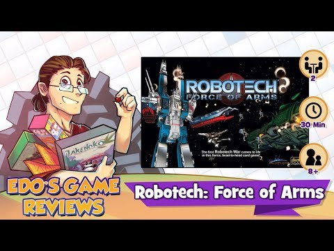 Edo's Robotech: Force of Arms Review