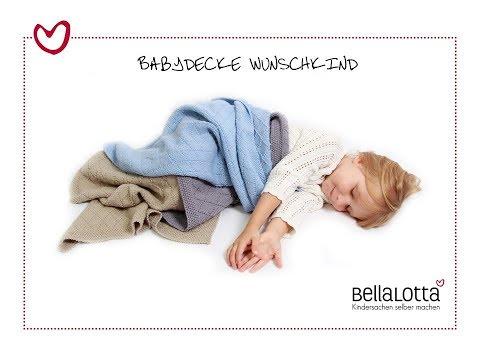 Babydecke einfach stricken - mit BellaLotta
