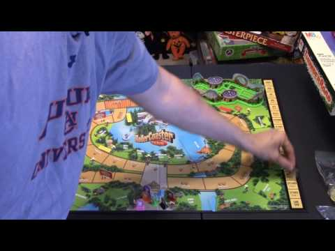 Matt's Boardgame Review Episode 134: Rollercoaster Tycoon