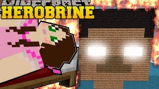 Minecraft: BURNING HEROBRINE! (HEROBRINE IS REAL!) Mini-Game by PopularMMOs