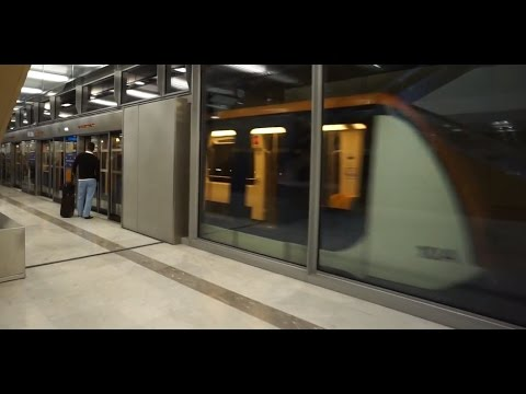 France, Charles De Gaulle, Train Ride To Terminal 2F, 2E, K Mp3