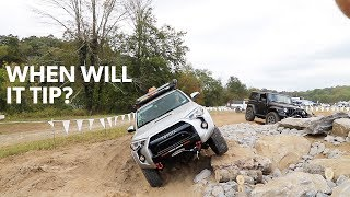 Ep48 - Getting STUCK on the Technical Driving Course at Overland Expo East