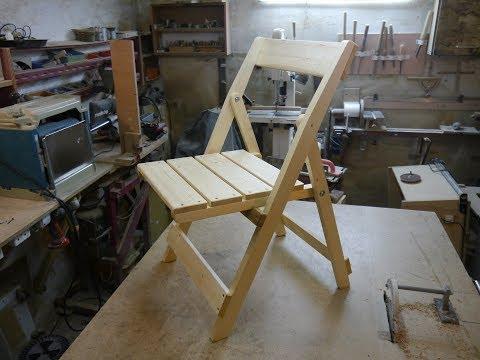 Складной стул для дачи. Homemade chair.