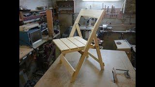 Самодельные складные стулья для рыбалки и отдыха