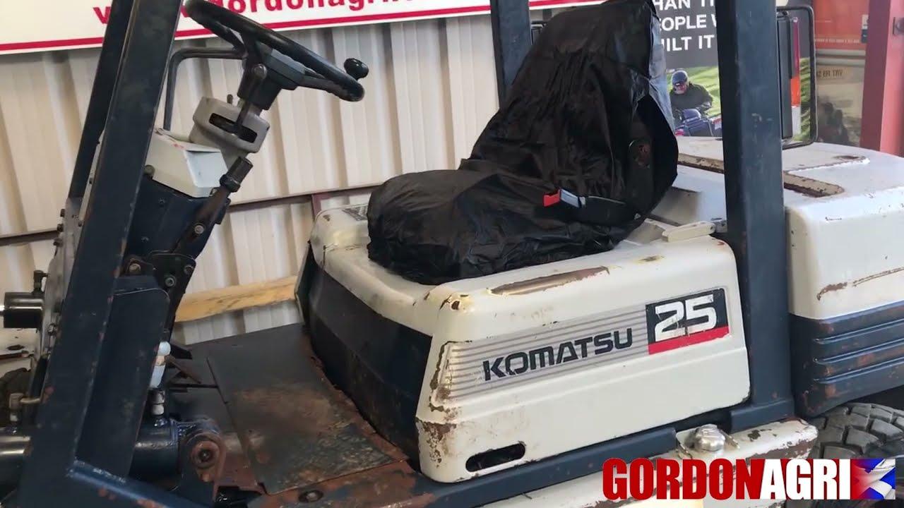 Komatsu FD25T Forklift