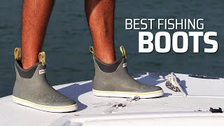 Best Fishing Boots - Must Have Boating Shoes (Bonus Sailfish)