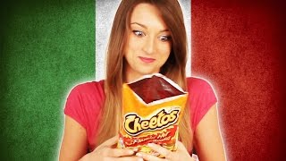 Italians Try American Snacks thumbnail