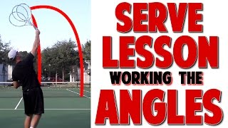 Intermediate Tennis Serve Lesson | Contact & Working The Court (Top Speed Tennis)
