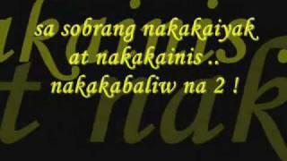 Pagmamahal Sayo by Curse One ( lyrics )