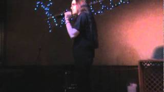 "Meg Trast performing Dana Glover's ""Thinking Over"""